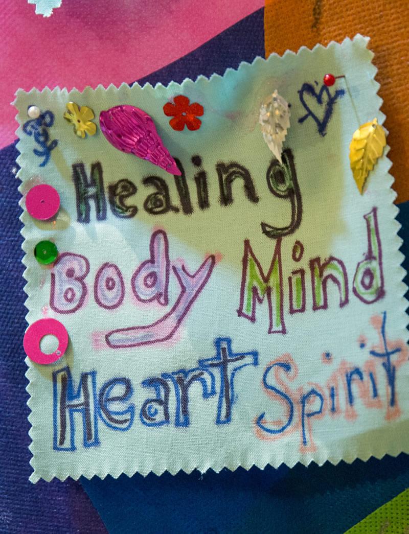 Healing body, mind, heart, spirit